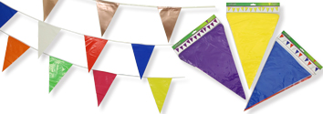 Solid Colour Bunting