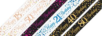 Sparkling Fizz Banners