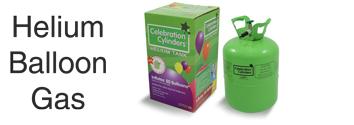 Helium balloon gas