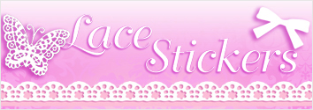 Eleganza Lace Stickers