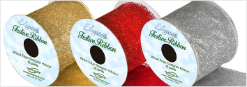 Satin Glitter Ribbon