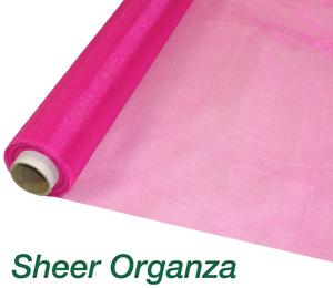 Sheer Organza Fabric