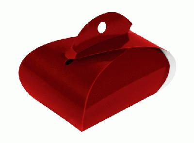 Favour/Weight Box Burgundy x 10pcs - Gift Boxes / Bags