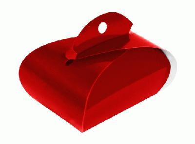 Favour/Weight Box Red x 10pcs - Gift Boxes / Bags