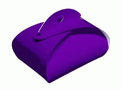 Favour/Weight Box Purple x 10pcs - Gift Boxes / Bags