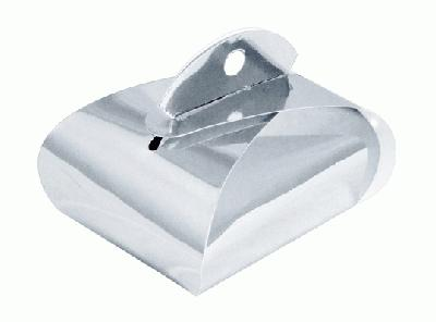 Favour/Weight Box Metallic Silver x 10pcs - Gift Boxes / Bags
