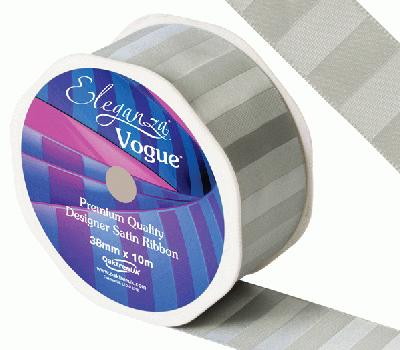 Eleganza Satin Vogue Ribbon 38mm x 10m Cedar - Ribbons