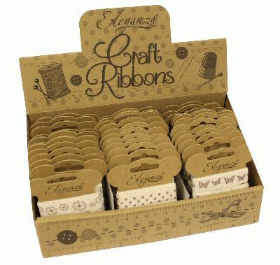 Eleganza Craft Selection box - Ribbons