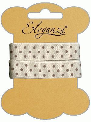 Eleganza Craft Polka Dot x 6 - Ribbons