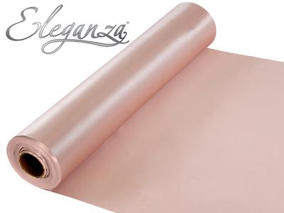 Eleganza Satin Fabric 29cm x 20m Rose Gold No.87 - Organza / Fabric