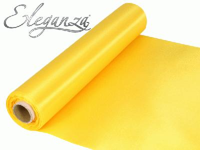 Satin Fabric 29cm x 20m - Yellow - Organza / Fabric