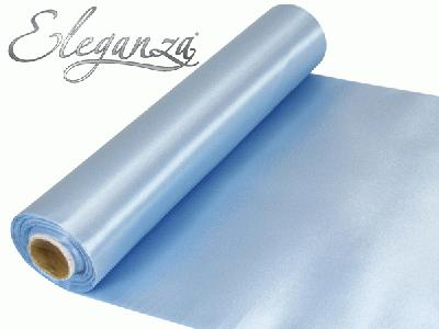 Satin Fabric 29cm x 20m - Lt Blue - Organza / Fabric