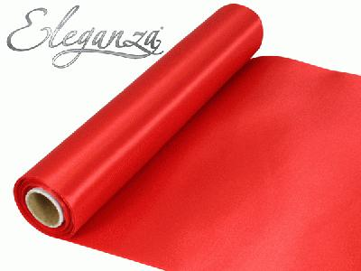 Satin Fabric 29cm x 20m - Red - Organza / Fabric