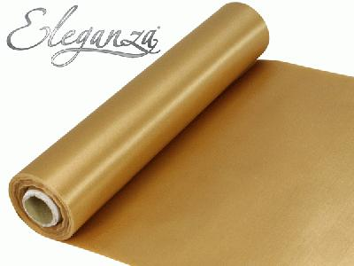Satin Fabric 29cm x 20m - Gold - Organza / Fabric
