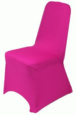 Eleganza Chair Cover - Fuchsia - Accessories