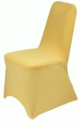 Eleganza Chair Cover - Gold - Accessories