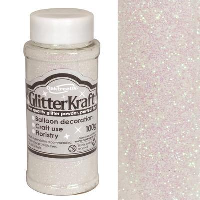 Glitter Kraft Fine Glitter 100g Bottle Iridescent No.42 - Craft