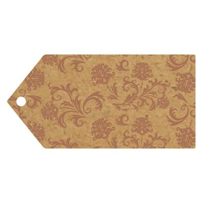 Eleganza Greeting Tags 100mm x 50mm Craft Finish Design No.504 x 10pcs - Craft