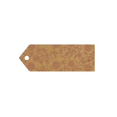 Eleganza Greeting Tags 70mm x 25mm Craft Finish Design No.504 x 10pcs - Craft