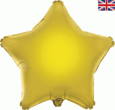 Gold Star Unpackaged - Foil Balloons