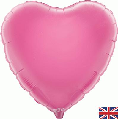 Pink Heart Unpackaged - Foil Balloons