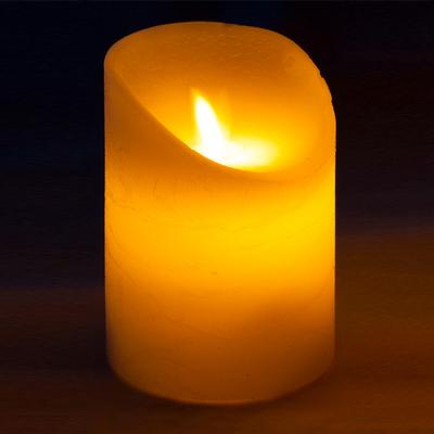 Decor Lites - Realistic LED Candle. 75mm x 100mm - L.E.D Lights