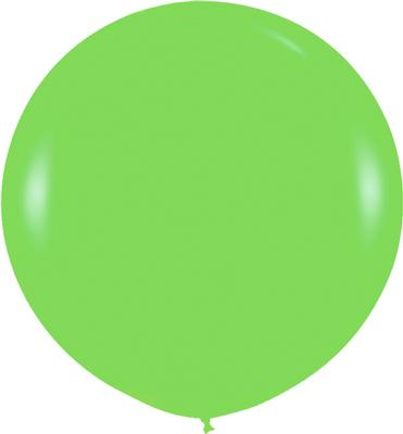36inch Fashion Solid Key Lime 031 - Latex Balloons