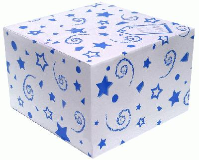 Balloon Box Blue - Accessories