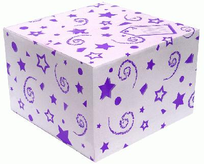Balloon Box Purple - Accessories