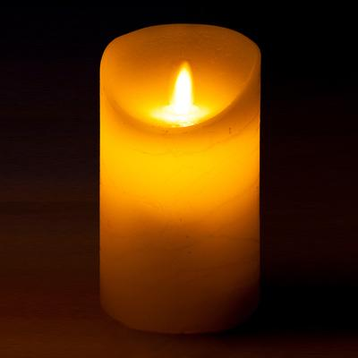 Decor Lites - Realistic LED Candle. 75mm x 125mm - L.E.D Lights