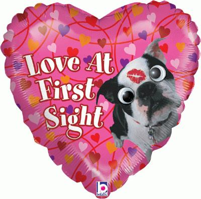 Google Eye Love At First Sight 21inch (Special Net Price) - Foil Balloons