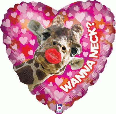 Smoochers Wanna Neck 21inch (Special Net Price) - Seasonal