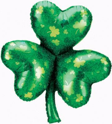 Holographic Shamrock (k) - Seasonal