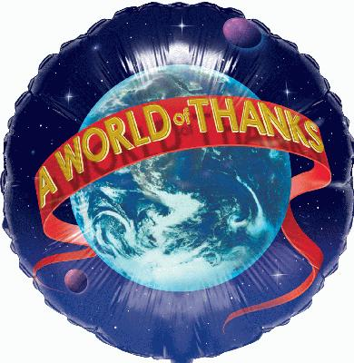World of Thanks (Special Net Price) - Clearance