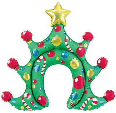 Christmas Tree Airdo Headwear - Seasonal