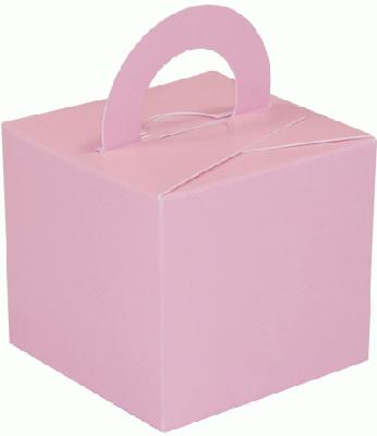 Balloon/Gift Box Pink x 10pcs - Accessories