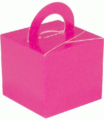 Balloon/Gift Box Fuchsia x 10pcs - Accessories