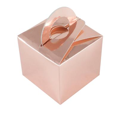 Balloon/Gift Box Rose Gold x 10pcs - Accessories