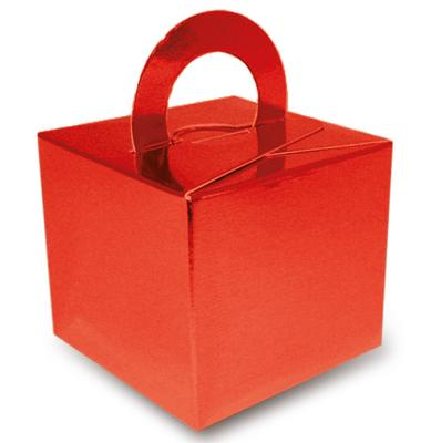 Balloon/Gift Box Metallic Red x 10pcs - Accessories
