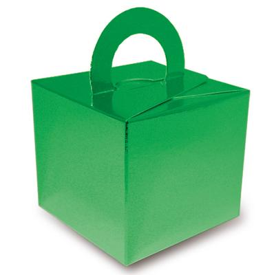 Balloon/Gift Box Metallic Green x 10pcs - Accessories