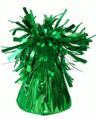 Foil Balloon Weights Green x 12pcs - Accessories