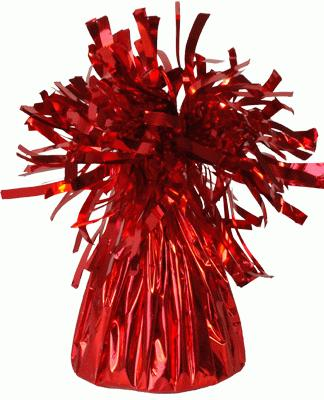 Foil Balloon Weights Red x 12pcs - Accessories