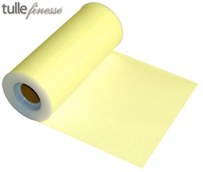 Tulle Finesse 6inch x 25y Yellow No.11 - Organza / Fabric