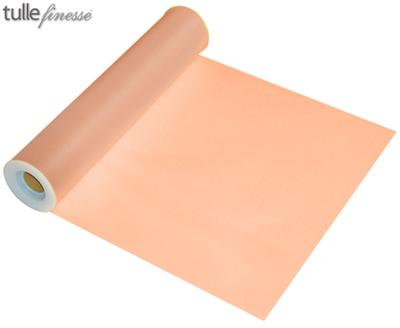 Tulle Finesse 12inch x 25y No.05 Peach - Organza / Fabric