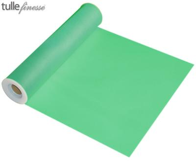 Tulle Finesse 12inch x 25y No.13 Mint - Organza / Fabric