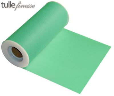 Tulle Finesse 6inch x 25y No.13 Mint - Organza / Fabric