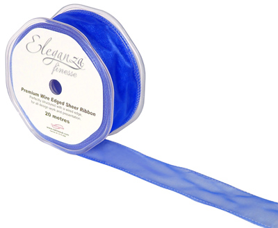32mm x 20m Royal Blue - Ribbons