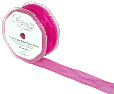 32mm x 20m Fuchsia - Ribbons