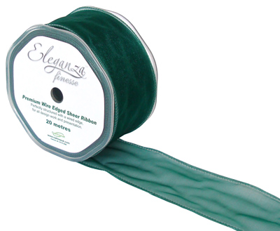 50mm x 20m Green - Ribbons