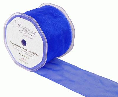 70mm x 20m Royal Blue - Ribbons